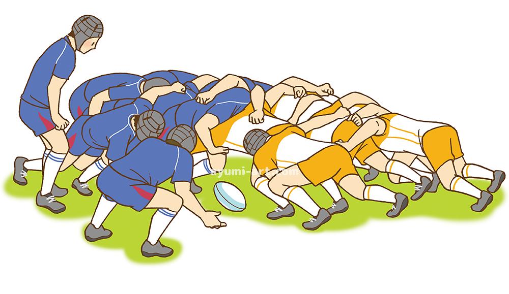 児童書イラスト ラグビー イラストレーター 多田あゆ実